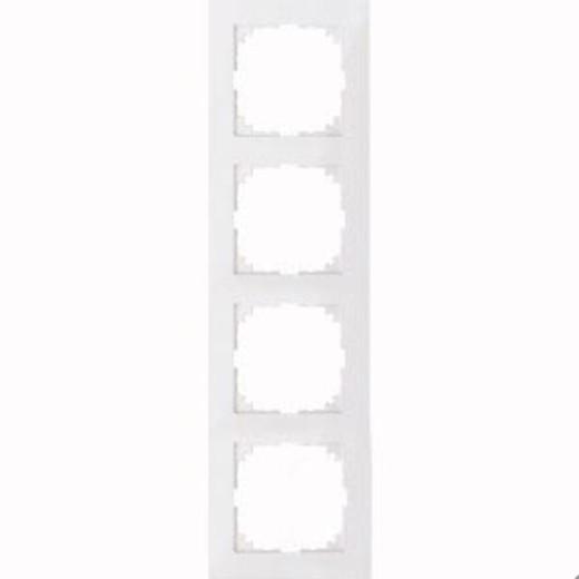 4040-3619 Merten рамка 4-постовая рамка(полярно-белый)