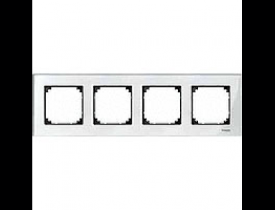 404419 Merten рамка 4-я (белый)