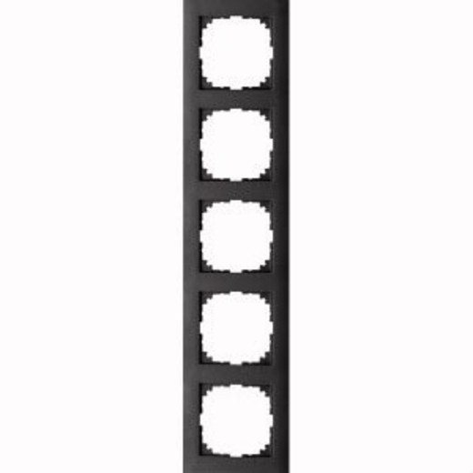 4050-3614 Merten рамка 5-постовая рамка(антрацит)