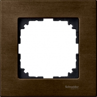 4051-3473 Merten рамка 1-я (орех)