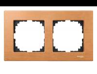 4052-3470 Merten рамка 2-я (бук)