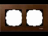 4052-3473 Merten рамка 2-я (орех)