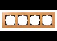 4054-3470 Merten рамка 4-я (бук)