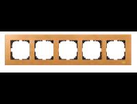 4055-3470 Merten рамка 5-я (бук)