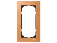 4058-3470 Merten рамка 2-я без перегородки (бук)