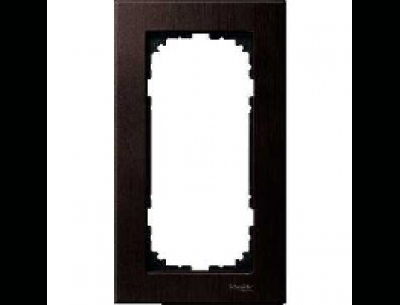 4058-3471 Merten рамка 2-я без перегородки (венге)