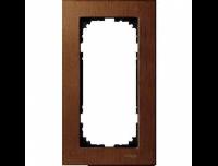 4058-3472 Merten рамка 2-я без перегородки (вишня)