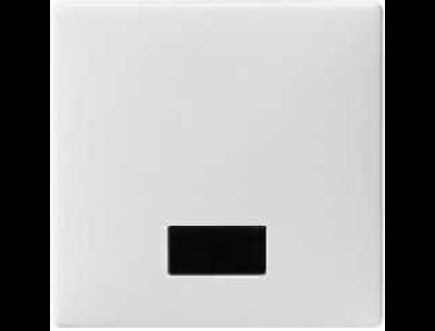 411844 Merten клавиша 1-ая с окошком, без линзы (бежевый)