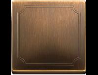 412143 Merten клавиша 1-ая (античная латунь)