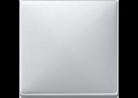 412160 Merten клавиша 1-ая (алюминий)