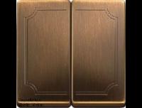 412543 Merten клавиша 2-ая (античная латунь)