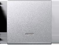 431060 Merten клавиша 1-ая с/п (алюминий)