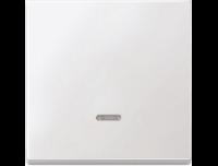 438019 Merten клавиша 1-ая с/п (полярно белый)