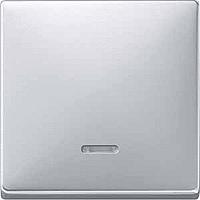438060 Merten клавиша 1-ая с/п (алюминий)