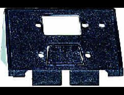 464360 Merten накладка аудиорозетки 1-ая с полем для надписи, (алюминий)