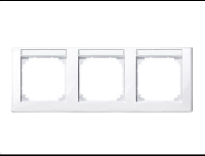 478325 Merten рамка 3-ая (белый актив)