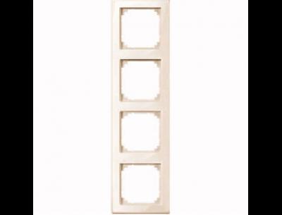 478444 Merten рамка 4-ая (бежевый глянцевый)