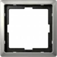 481146 Merten рамка 1-ая (сталь)