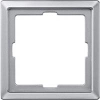 481160 Merten рамка 1-ая (алюминий)