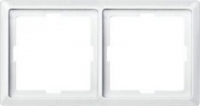 481119 Merten рамка 2-ая (белый)