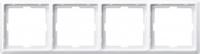 481419 Merten рамка 4-ая (белый)