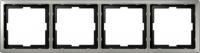 481446 Merten рамка 4-ая (сталь)