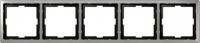 481546 Merten рамка 5-ая (сталь)