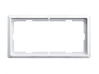 481819 Merten рамка 2 поста без перегородки (белый)