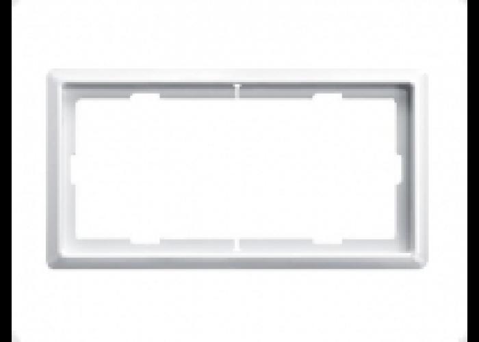 481946 Merten рамка 1,5 поста вертикальная (стальная)
