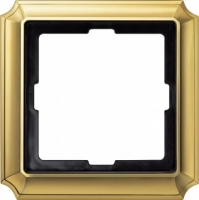 483121 Merten (блестящая латунь) рамка 1-ая (золото)