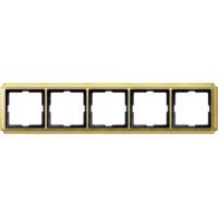 483521 Merten (блестящая латунь) рамка 5-ая (золото)