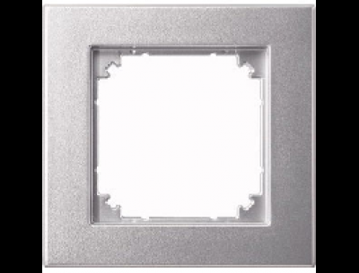486160 Merten рамка 1-ая (алюминий)
