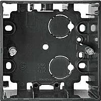 510514 Merten коробка для открытого монтажа 1-я (антрацит)