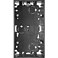 510614 Merten коробка для открытого монтажа 2-я (антрацит)