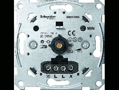 5136-0000 Merten светорегулятор поворотный 20-315ва для л/н и эл тр-ров