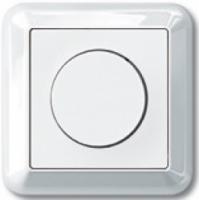 5136-1219 Merten светорегулятор поворотный для л/н 300вт (в сборе) (белый)