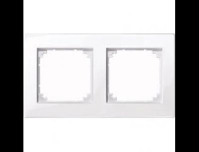 515225 Merten рамка 2-я (активный-белый)
