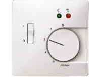 537519 Merten накладка регулятора тёплого пола (полярно белый)