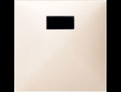 570944 Merten накладка светрегулятора/выключателя нажимного с ду (бежевый)