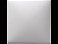 573760 Merten накладка светрегулятора/выключателя нажимного (алюминий)