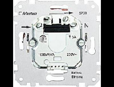 576499 Merten выключатель электрон.сенсорный 2-канальный выключатель/жалюзи,1000va