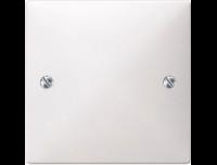 662219 Merten заглушка на винтах (белый)