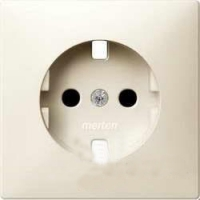 2330-4044 Merten накладка для механизм розетки schuko (бежевый)