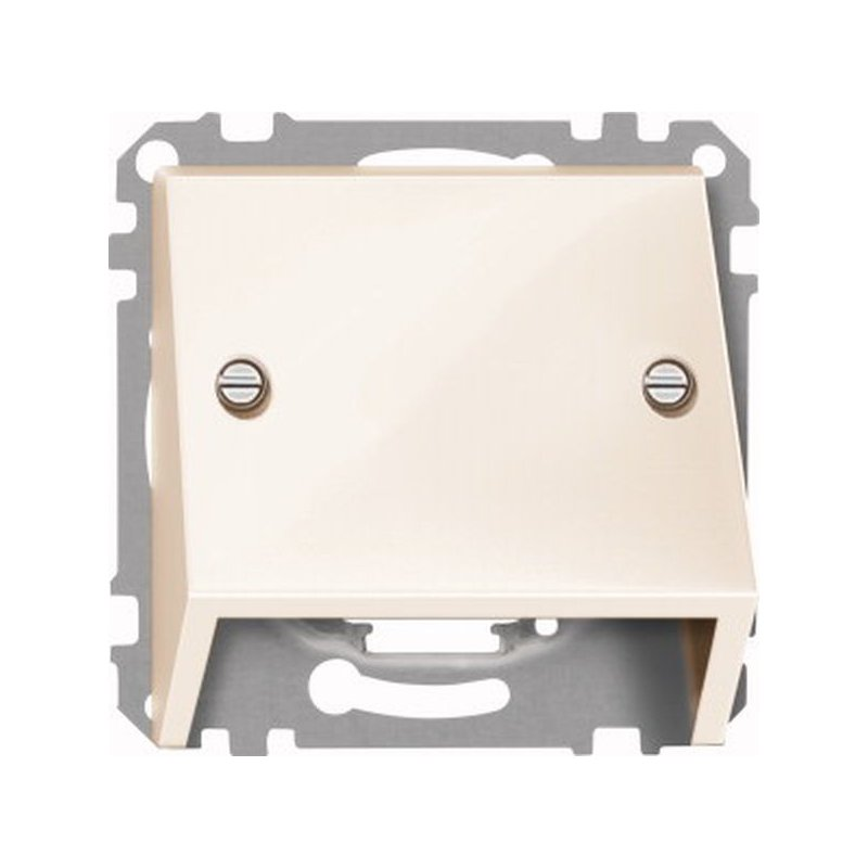 464944 Merten наклонная накладка для телекомуникационной розетки (бежевый)