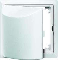 516119 Merten кольцо промежуточное с крышкой (полярно белый)